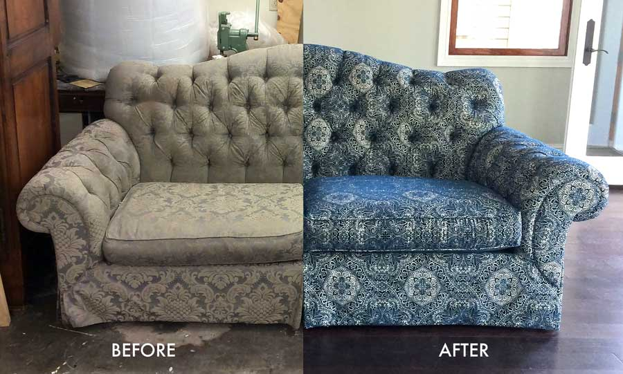 Recover furniture